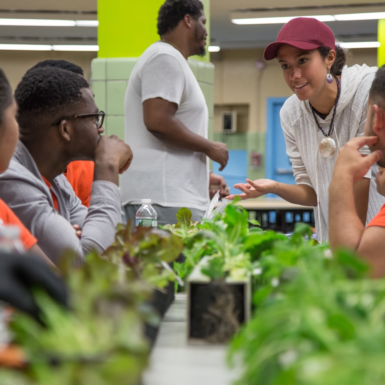 Education - Enrich your STEM curriculum with a field trip to our Brooklyn location or purchase a farm or garden for your school. Experience the impact that growing food in the classroom has on an array of subjects.