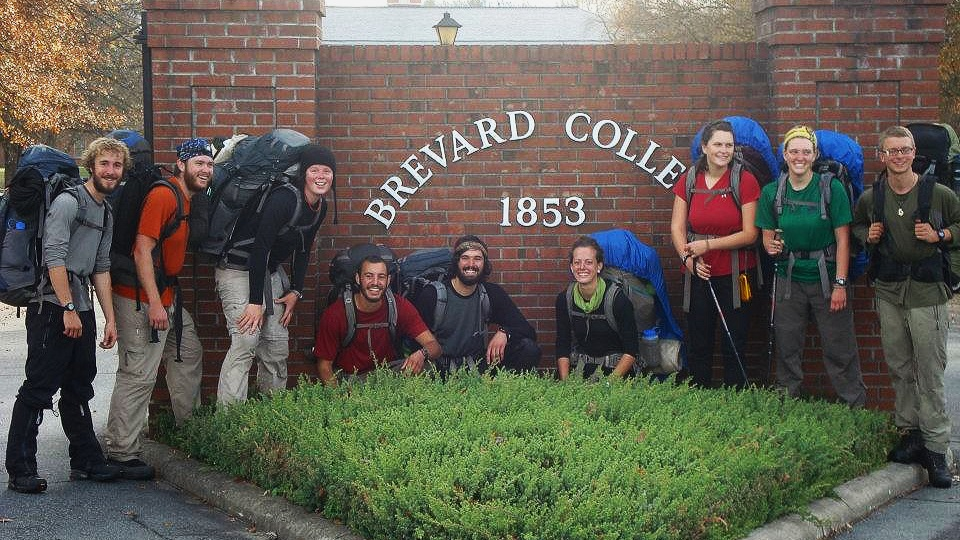 Big smiles after completing our 21-day backpacking trip in the Mountains of North Carolina with Brevard College in 2011. (I am the 4th one from the right)