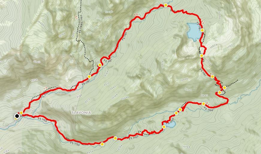Trail Map Credit: AllTrails.com