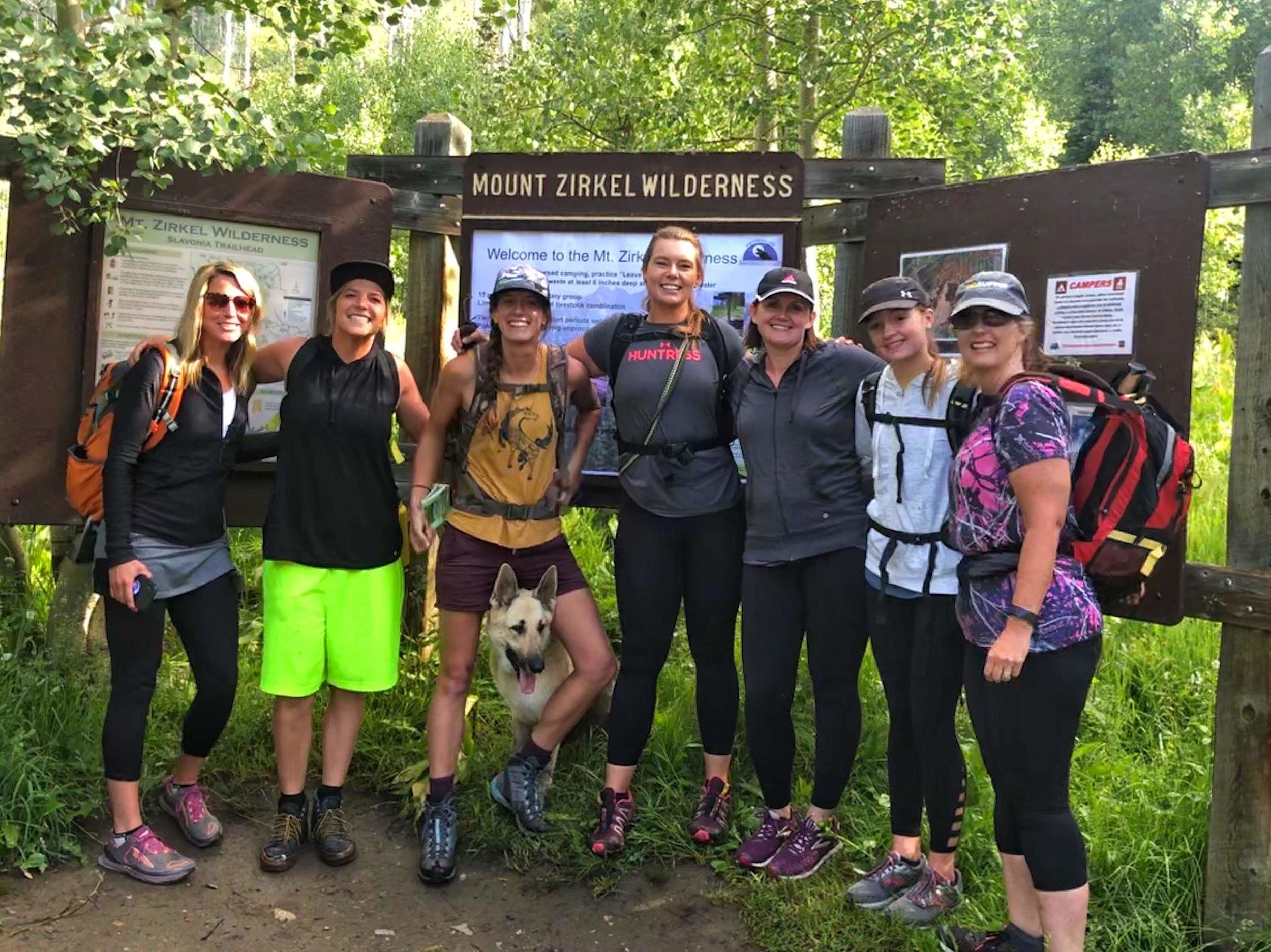 Our Zirkel Circle Team: Nicole, Caitlin, Elena, Jaime, Rebecca, Alayna, and Misty