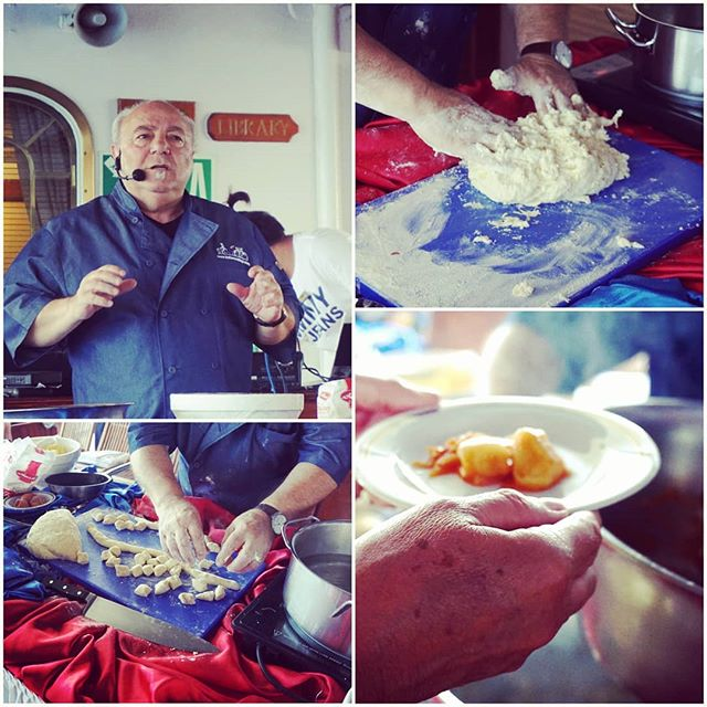 #chefezio#guestchef#ROYALCLIPPER2019#homemadegnocchi