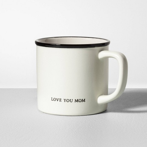 Love You Mom Mug, $4.99