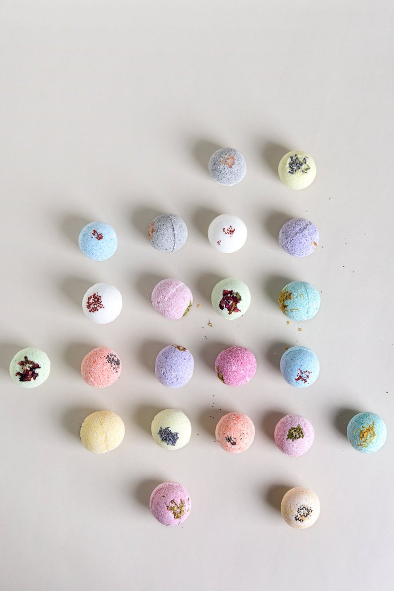 Bath Bombs Gift Box, $28