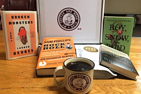 Coffee & a Book Subscription Box, $32+