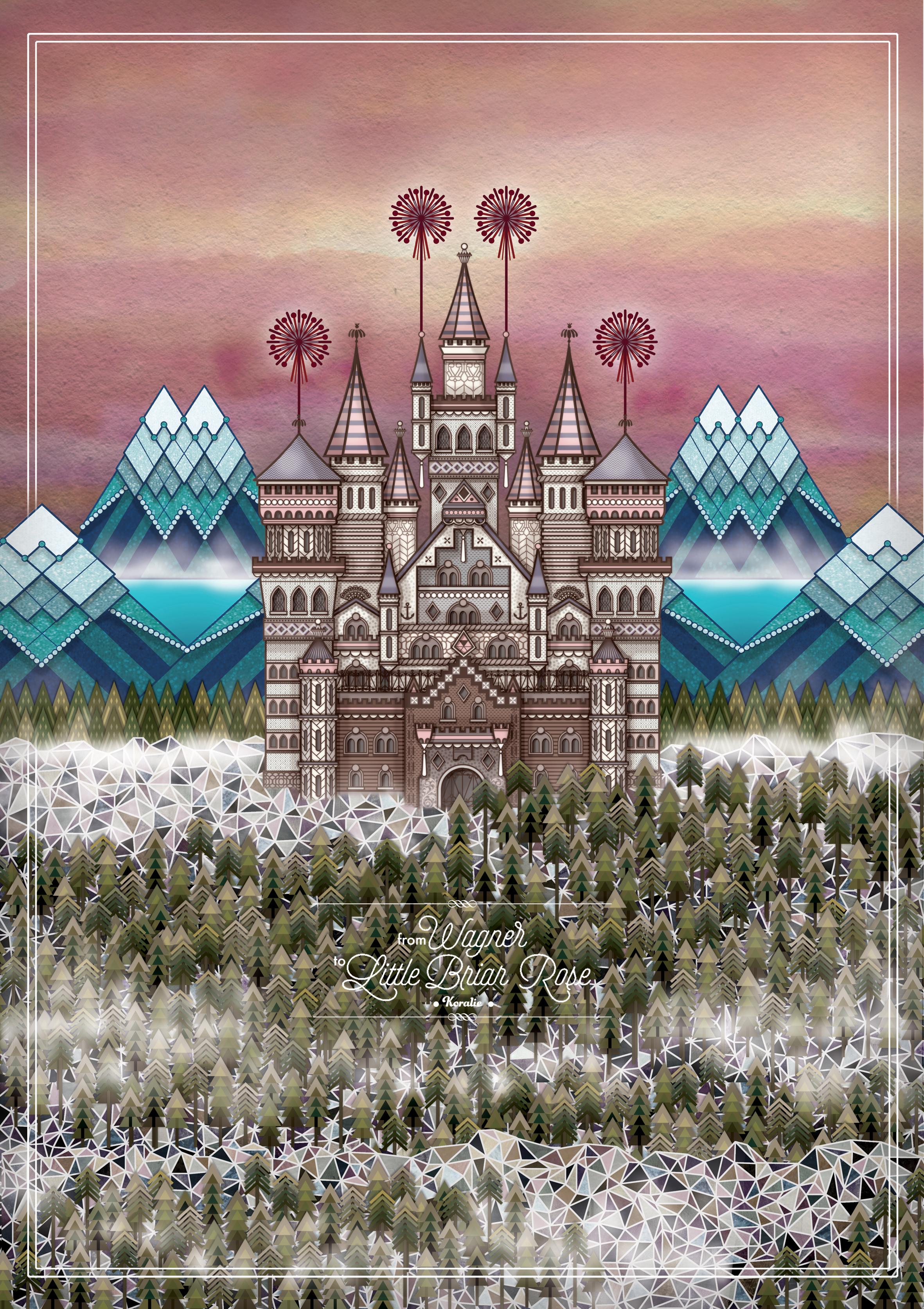 Bavaria  - Digital illustration   2014