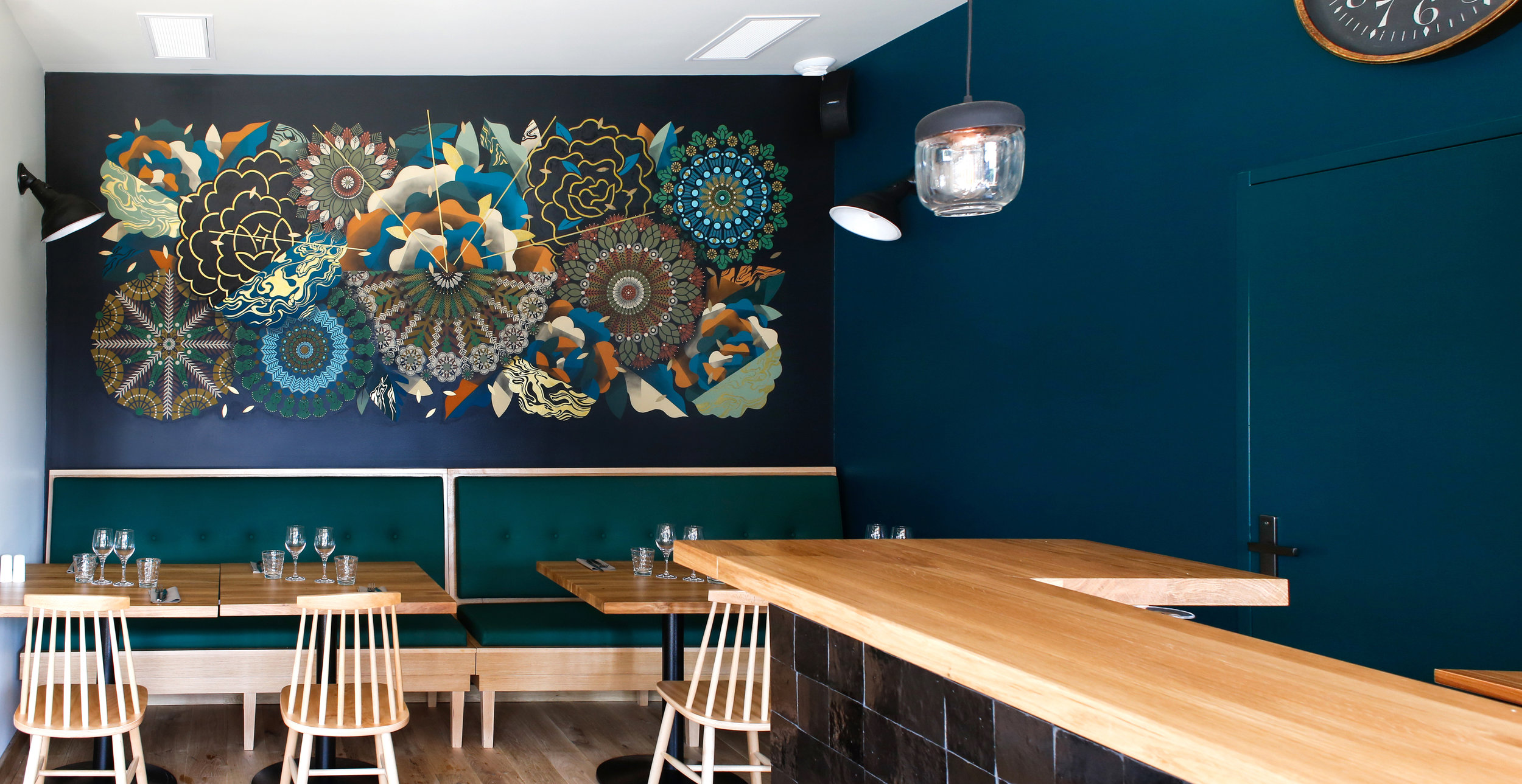 Mur Végétal #6  - Arroma restaurant, Montalivet - FR | 2018 w/ SupaKitch