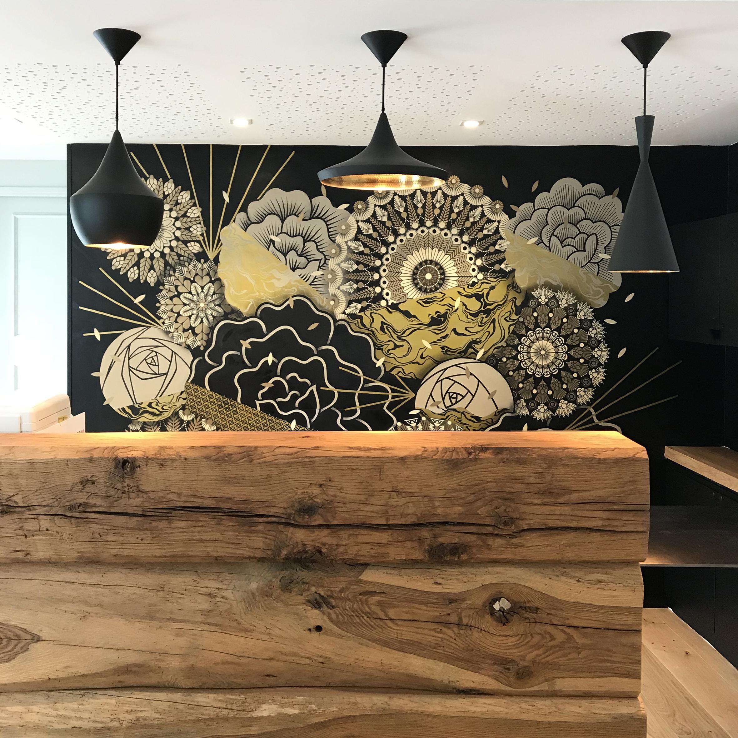 Mur Végétal #7  - Briketenia, Restaurant, Guethary - FR | 2018 _ w/ SupaKitch