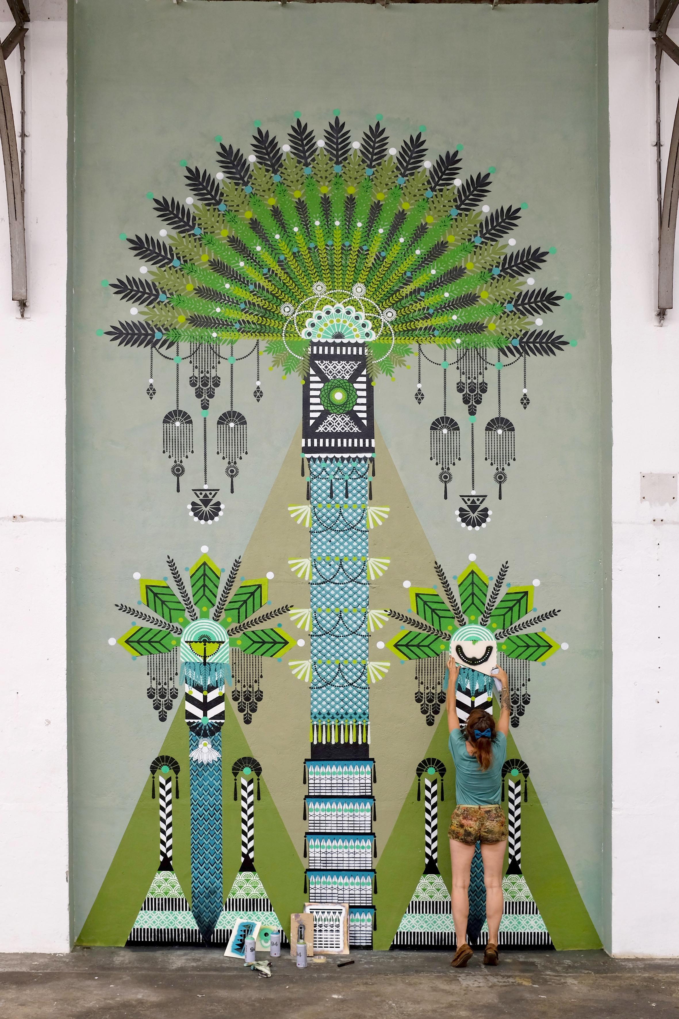 Three Palmtrees  - Colorama Festival, Biarritz - FR | 2016