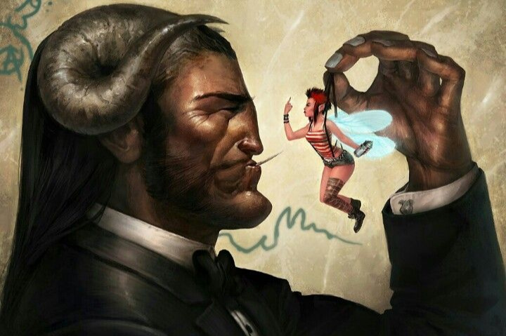 Oak - A troll in a corporate suit, fighting the man from the inside. - Artist Christian Nuack