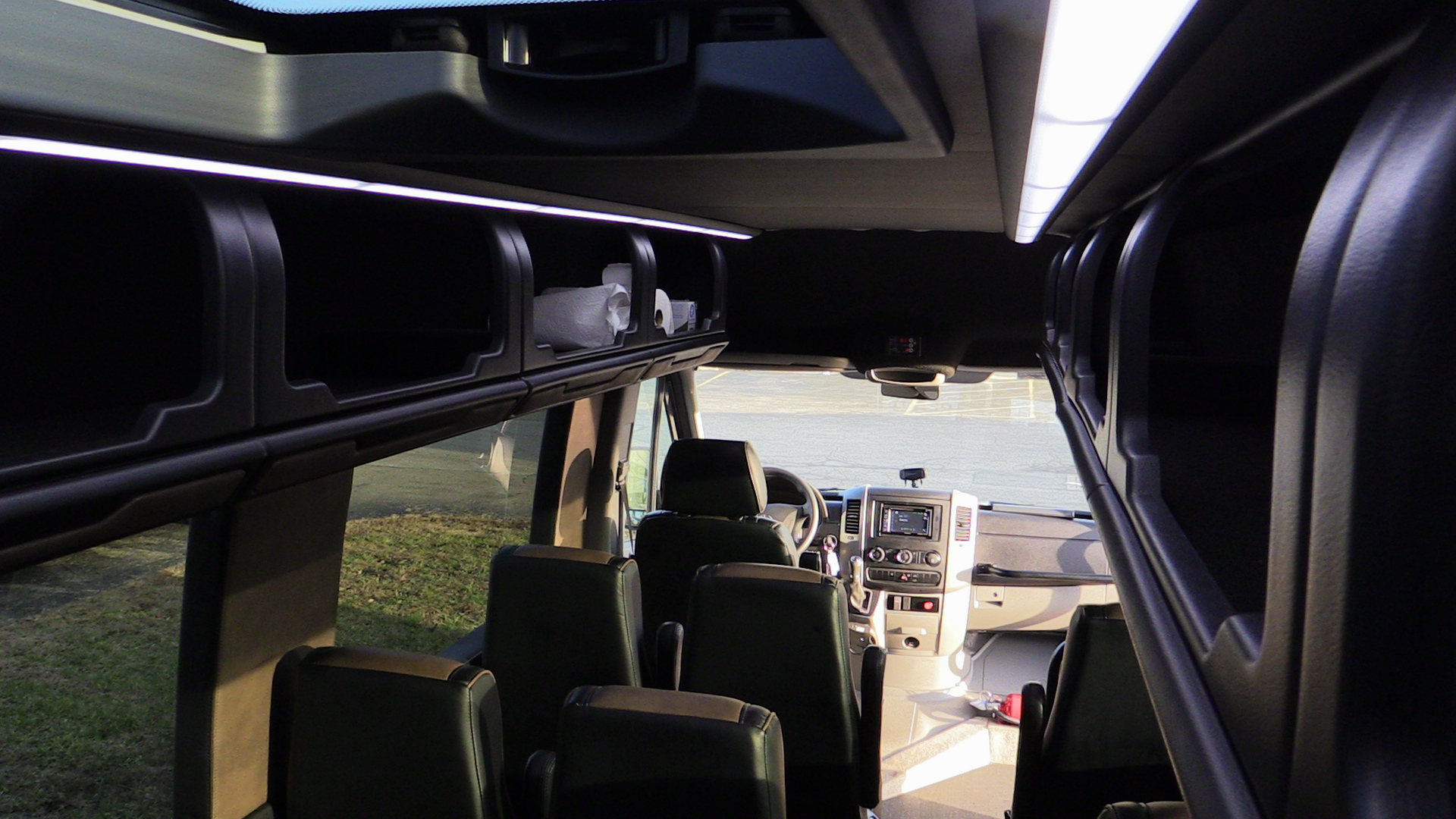 Black Shuttle Overhead Storage.JPG