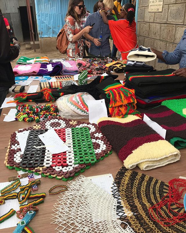 Today was graduation at Mukuru Kwa Njenga, Clients brought an array of goods they had made with skills they learned over the course of the program; Everything from intricate beadwork to knitted scarves. It's hard to describe the joy contained in this event, but it's truly remarkable to be a part of. We're so proud of all the hard work our clients have put in this year, and so excited to see what they are able to do next! . . #lifebeyondaids #careforaids #orphanprevention #everydayafrica #lifebeyondstigma #beyond #magicalkenya #igkenya #eastafrica #passionpassport #thatsdarling #empowerment #economicempowerment #actjustly #lovemercy #walkhumbly