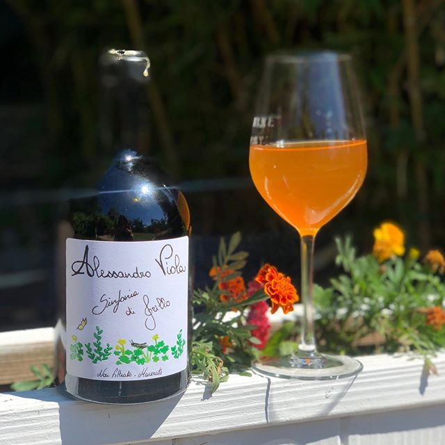 """NEW EP 🚨ORANGE WINE, OR HOW MAR LOST THE SKIN CONTACT WAR 🚨 Adam & MAR drink @alessandroviolavini's """"Sinfonia di Grillo"""" while talking about one of the natural wine world's brightest stars: Orange wine. They'll take you through how it's made, what gives it that bright orange color, and how MAR's campaign to call it """"skin-contact"""" has pretty much failed. 🍊🥂 LISTEN ON APPLE (link in bio) AND ⚡️ NOW AVAILABLE ON SPOTIFY ⚡️ OR ON STITCHER OR ON @heritage_radio!"""