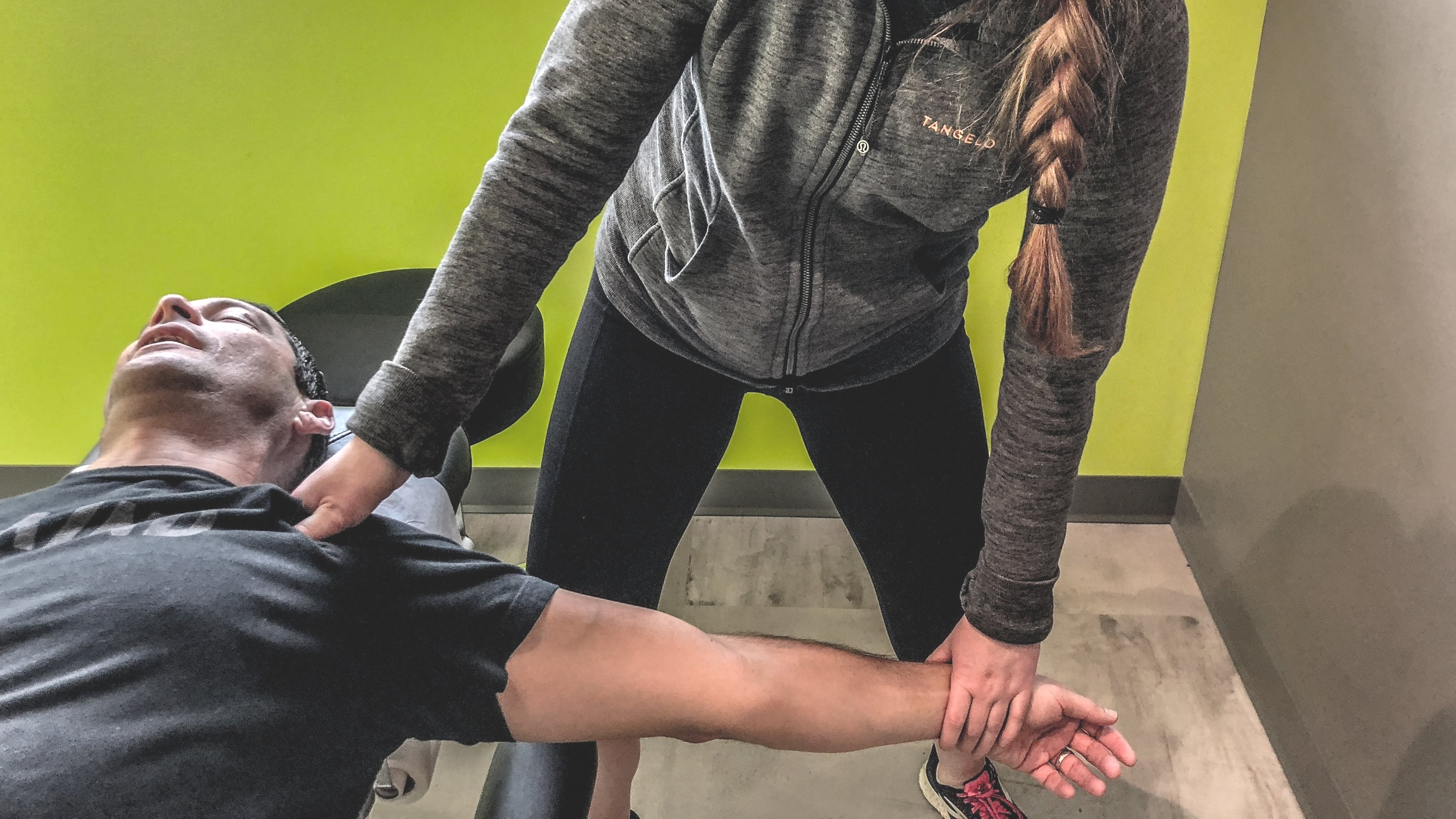 wave goodbye to elbow pain. - Find the source. Correct the movement.