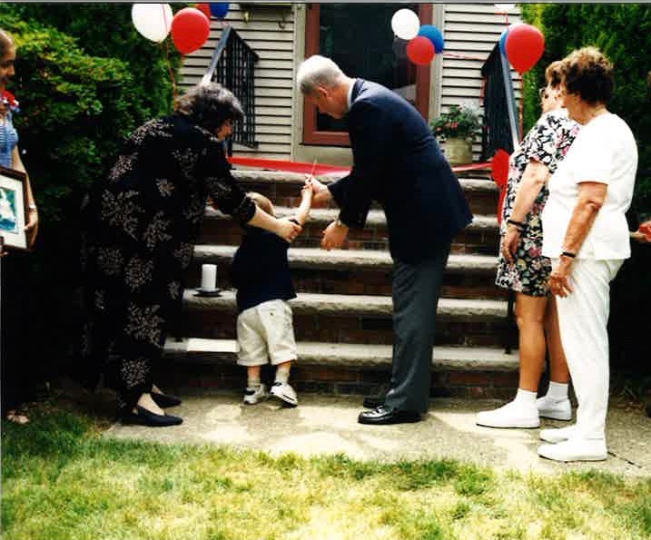 Ribbon Cutting at the Midland Park Group Home in May 1998