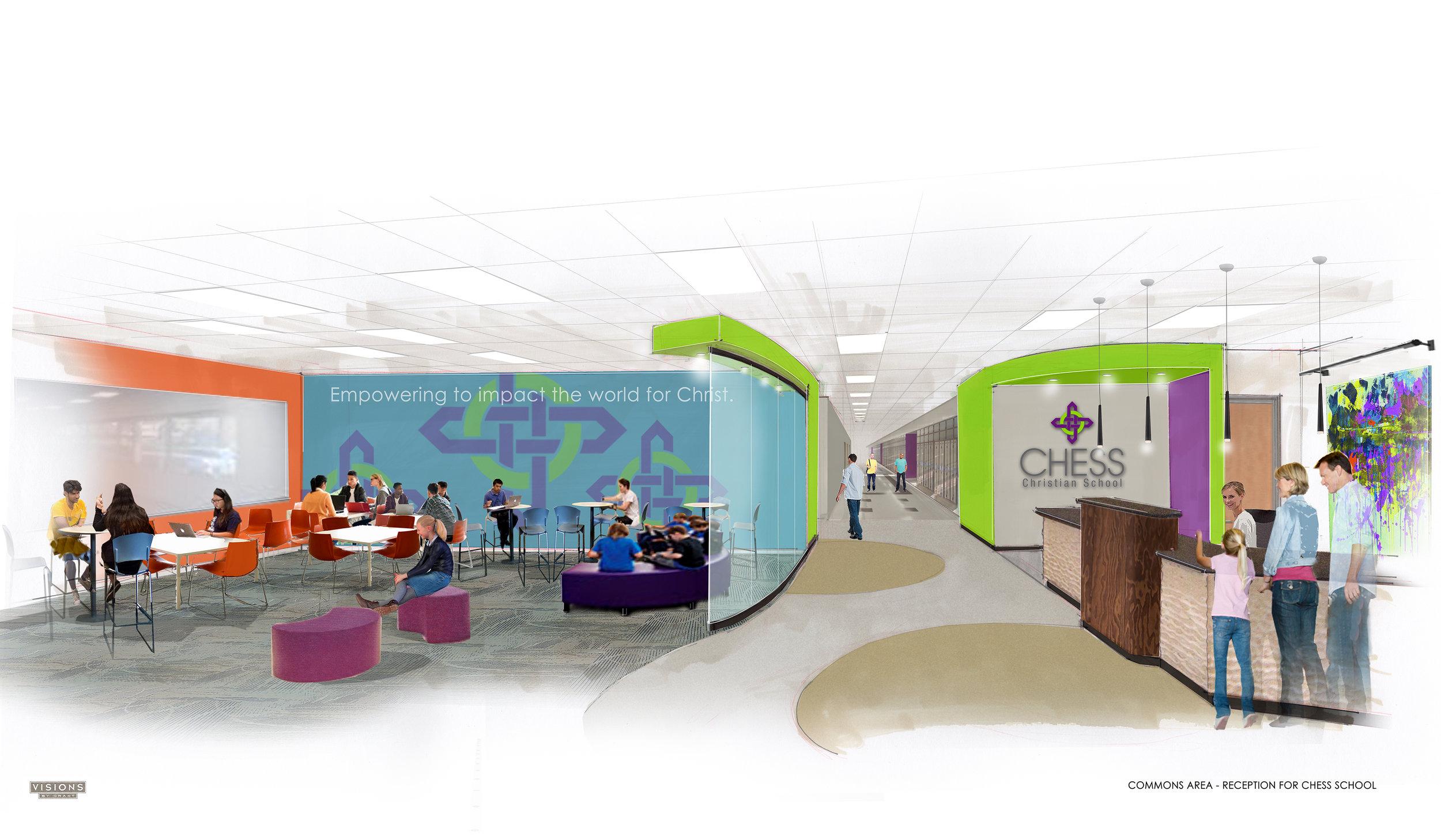 Interior Commons Area