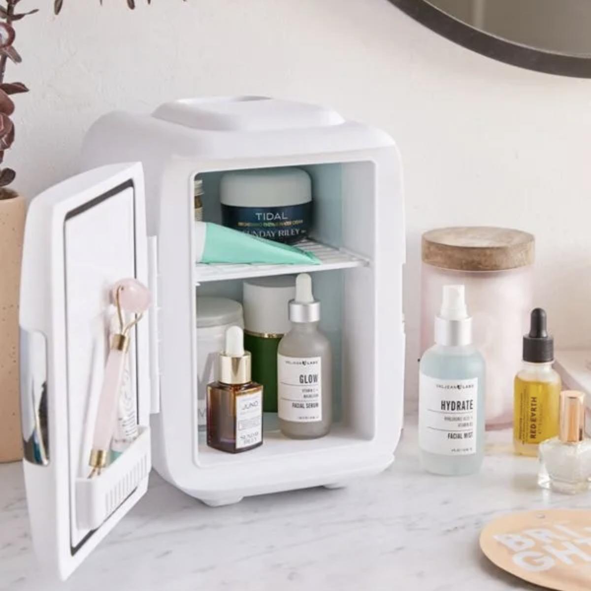 fashionista.com - Does Anyone Really Need A Skin-Care Fridge?