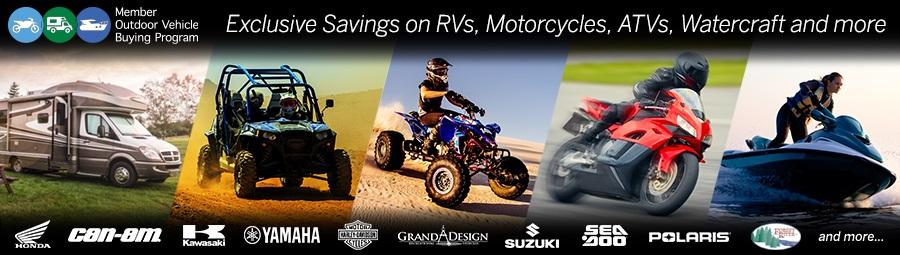 RV, ATV, Motorcycles, Watercraft -