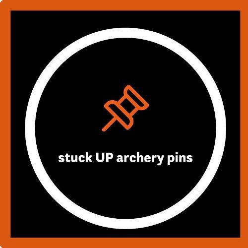 Stuck UP Archery Pins - Pins10% Discount