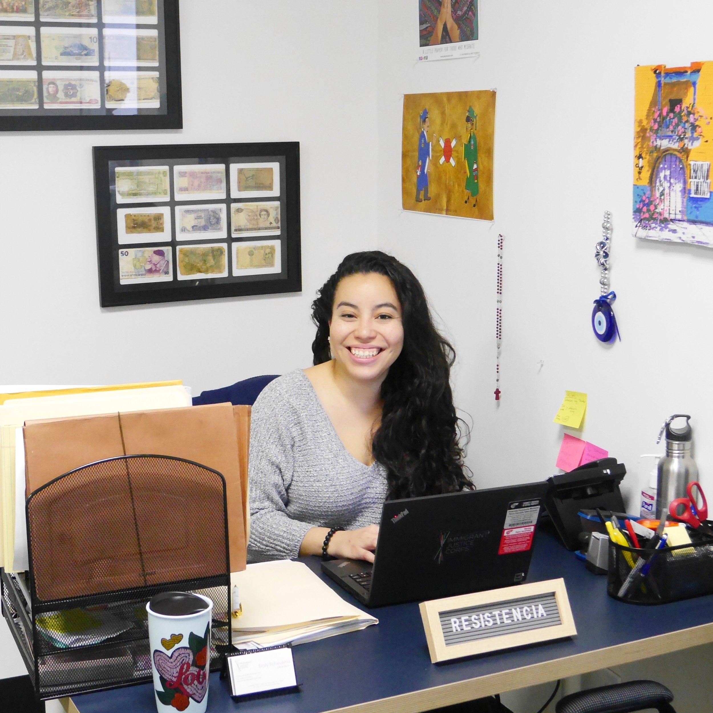 Justice Fellow Emily Echeverria