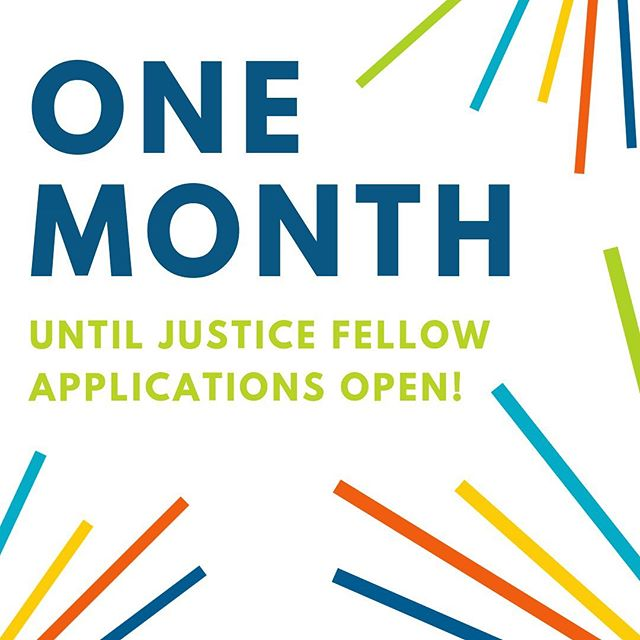 🗓 Mark your calendars! Justice Fellowship applications will open earlier this year! Apply to join the Class of 2020 - applications open on JUNE 10! #TeamIJC #immigrationlawyer