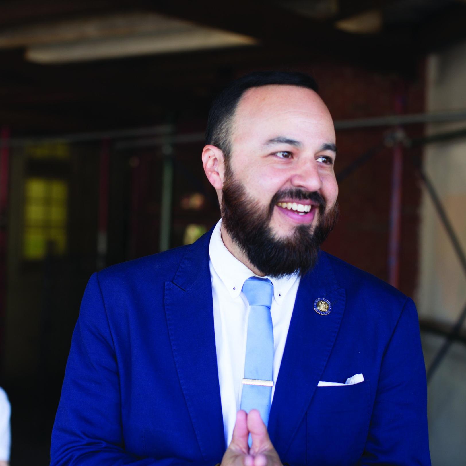 Council Member Francisco Moya -