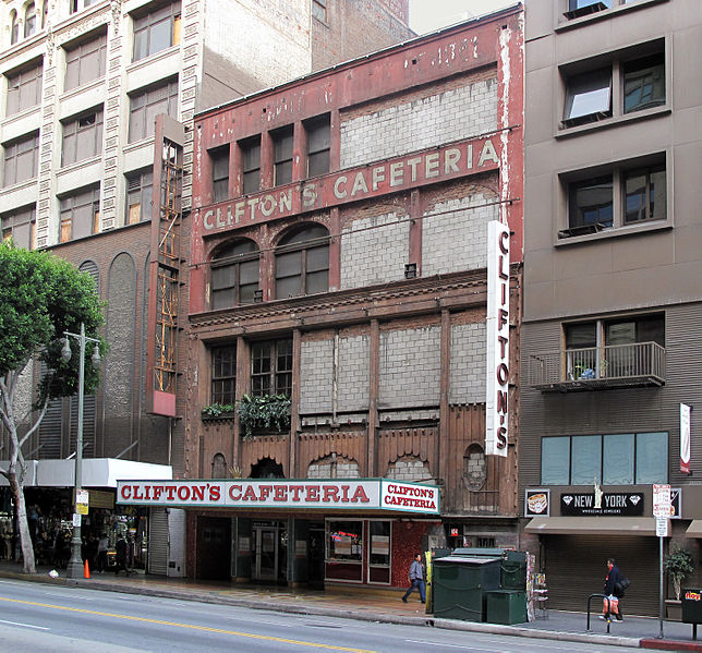 Clifton's Cafeteria photo courtesy of Creative Commons  Downtowngal