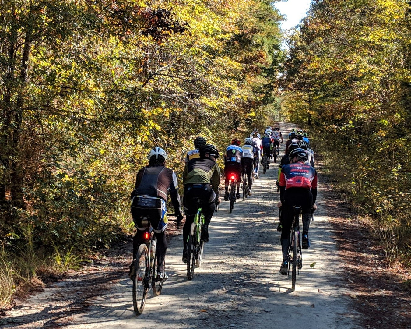 2 day-Diva/Dude: GravelCamp - October 3rd-5th 2019 (In conjunction with Boyd Cycling Gravel event)Location: Sumter National Forest9:30am-3pm dailyDifficulty Level: Blue | DiamondCost TBDGravel is the rage right? WELP Boyd Cycling and TotalCyclist were there before the rage! Join us in the Sumter National Forest for coaching, training, friendship and Fun….Gravel Fun!