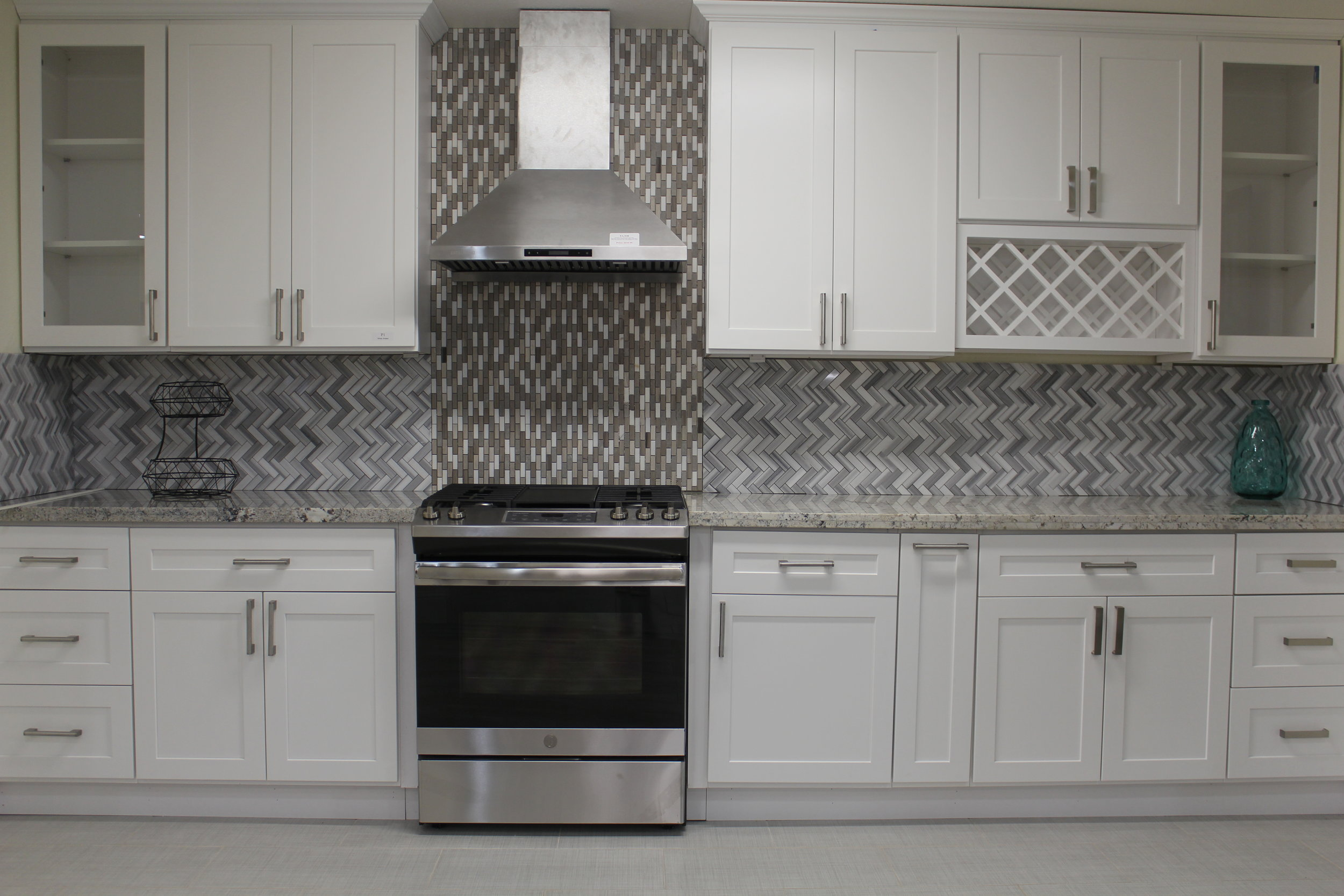 P&Y Kitchen Cabinets and Stones