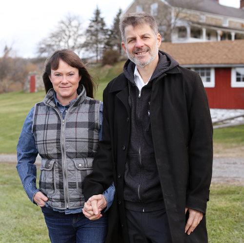 Co-Founders, Gabrielle Stubbert and Peter Nussbaum