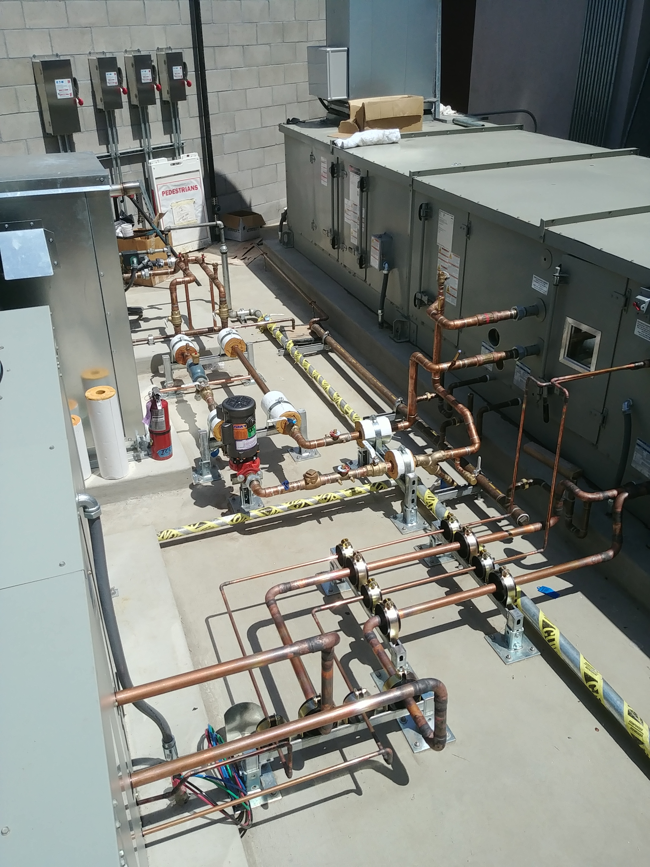 Piping to Trane Equipment at Scripps II.jpg