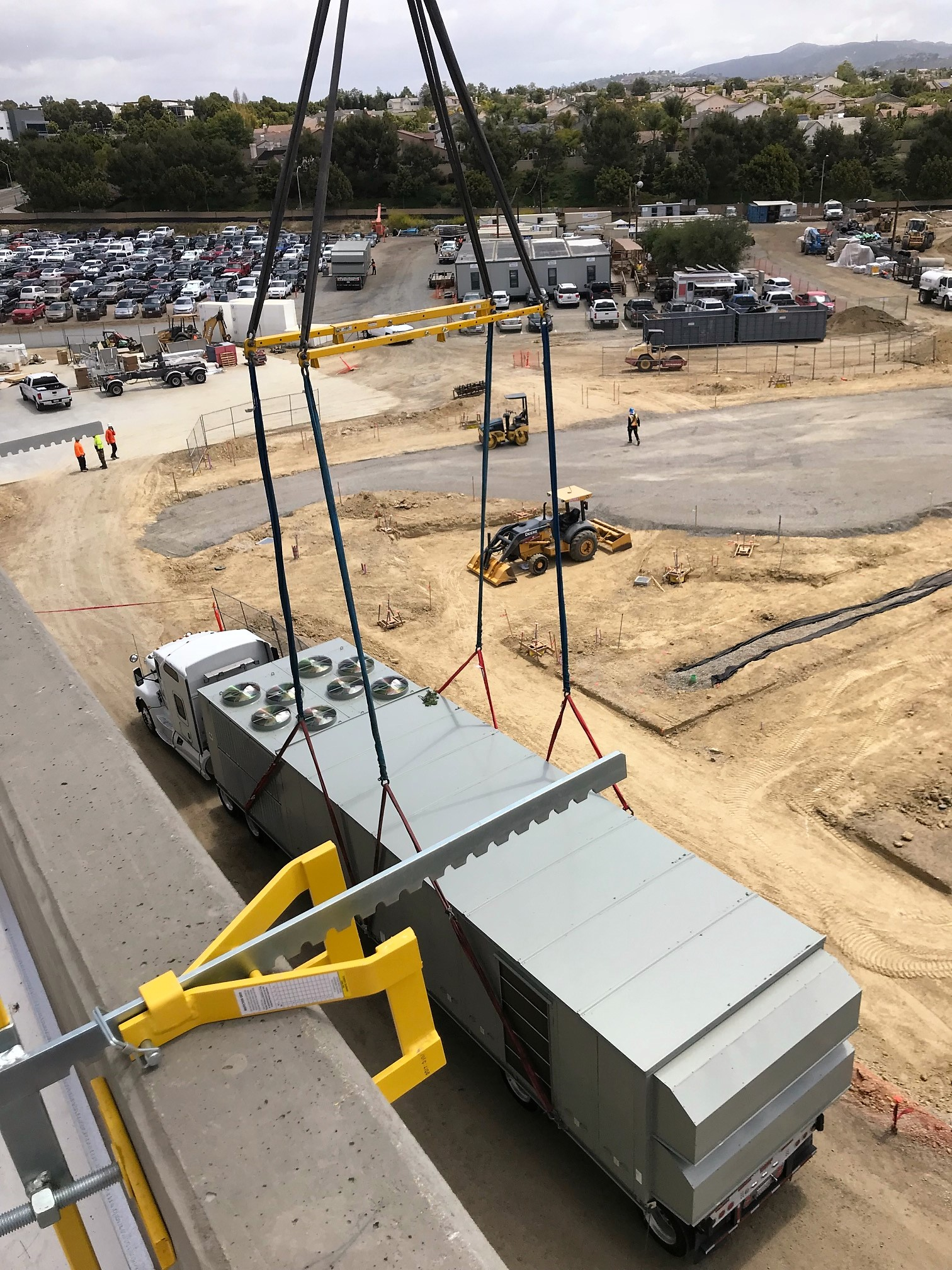 Trane Rooftop VAV Unit- crane lift.jpeg