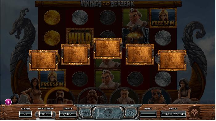 Vikings go Berzerk random feature