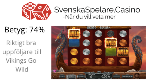 Vikings go Berzerk Betyg 74%.png