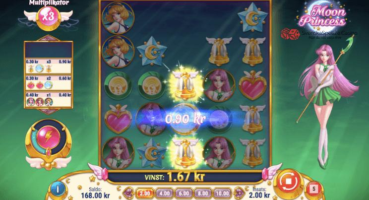 Så här kan en vinst se ut i Moon Princess