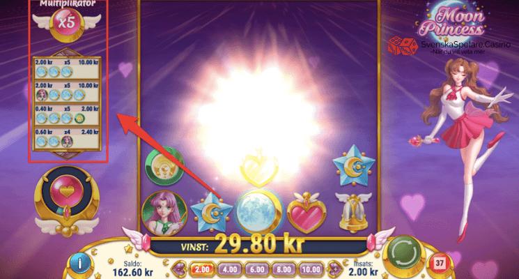 Här ser du bonusmätaren i spelet