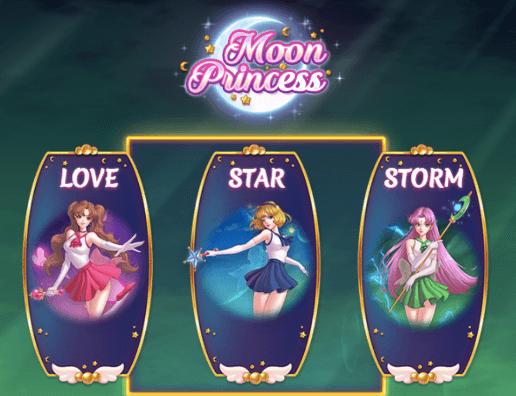 Spelets 3 prinsessor