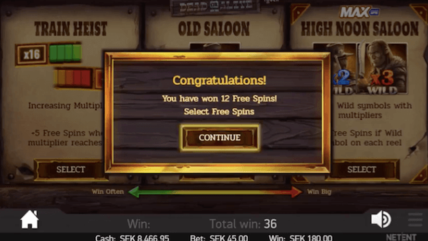 12 free spins Dead or Alive 2.png