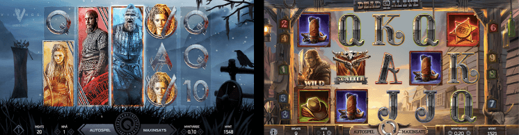 Nya casinospelen från NetEnt: Vikings och Dead or Alive 2