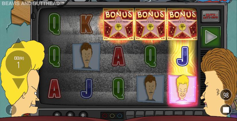 Såja! 3 bonus symboler tar dig till ett av bonusspelen