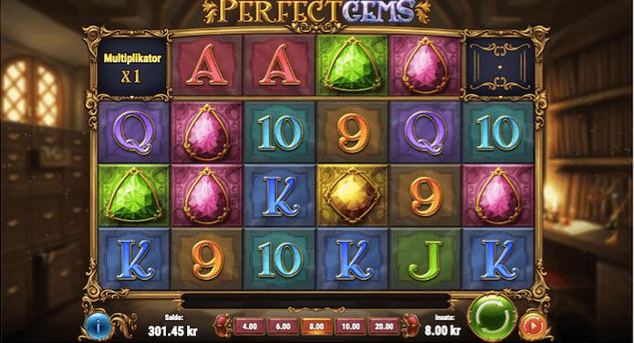 Perfect Gems casino slot recension start bild 1.png