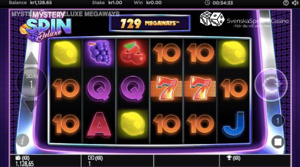 Den klassiska 7 symbolen som visas här på hjulen 4 och 5 vill du se fler av och helst i vinnande kombinationer