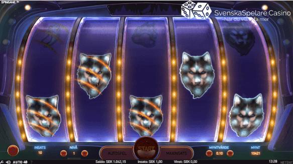 Så här kan de se ut när du får en vinst med blandad kompott av supersymboler och vanliga symboler