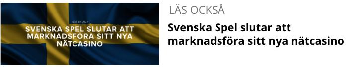 Svenska Spel slutar att marknadsföra sitt nya nätcasino.png