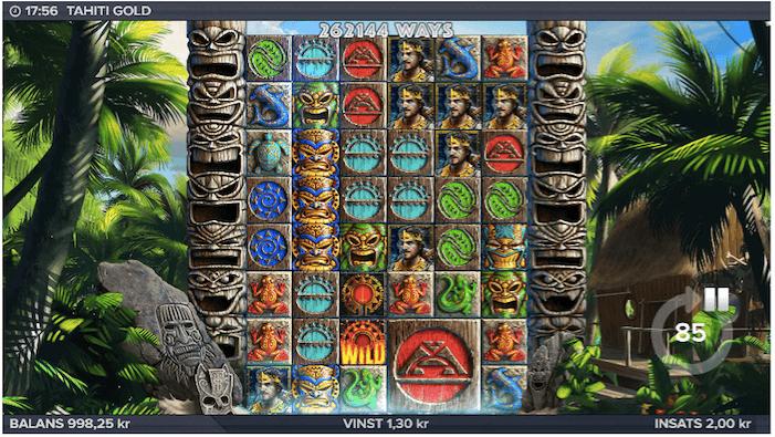 Maximala 262 144 vinstvägar