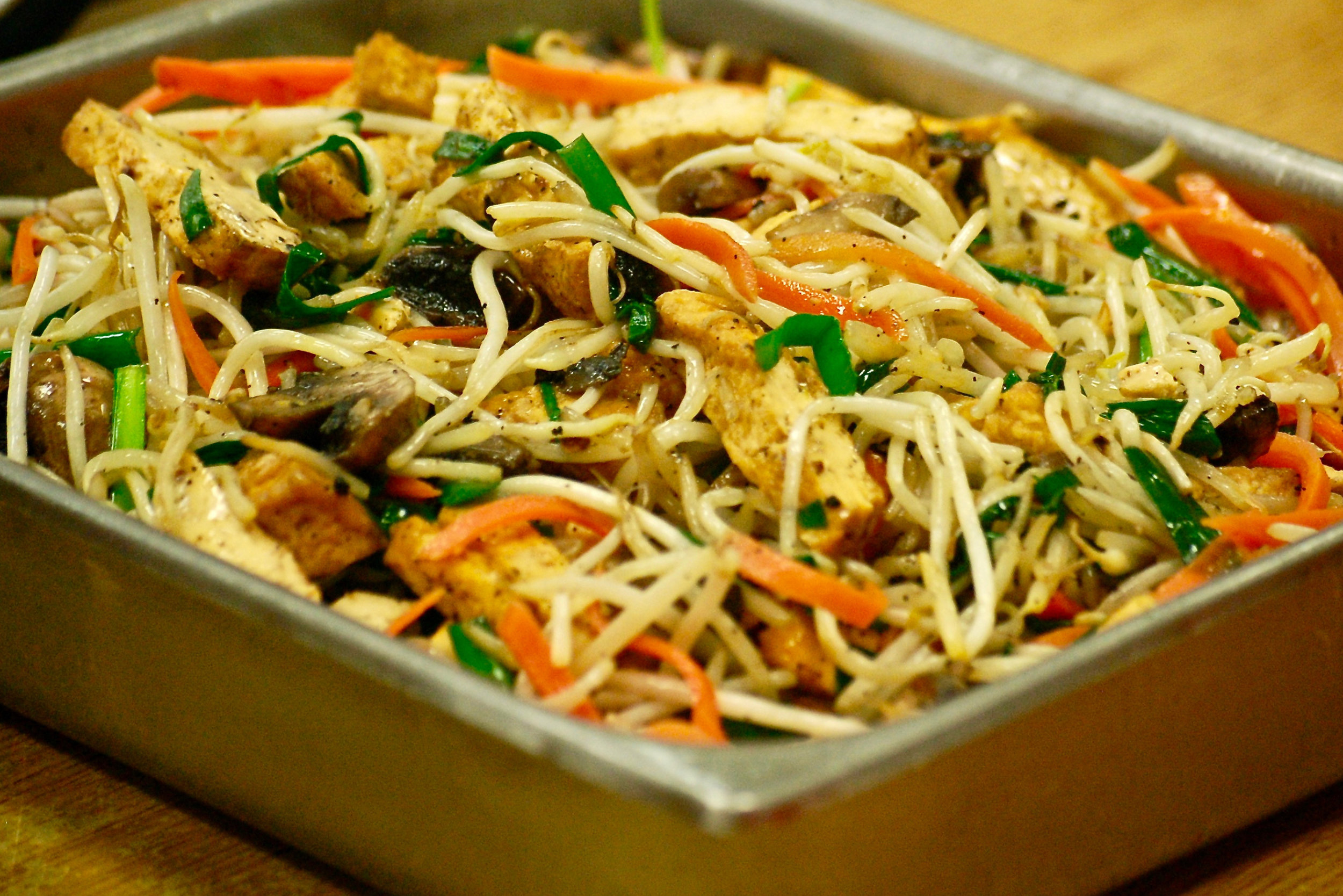 Tofu and Veggie Noodles