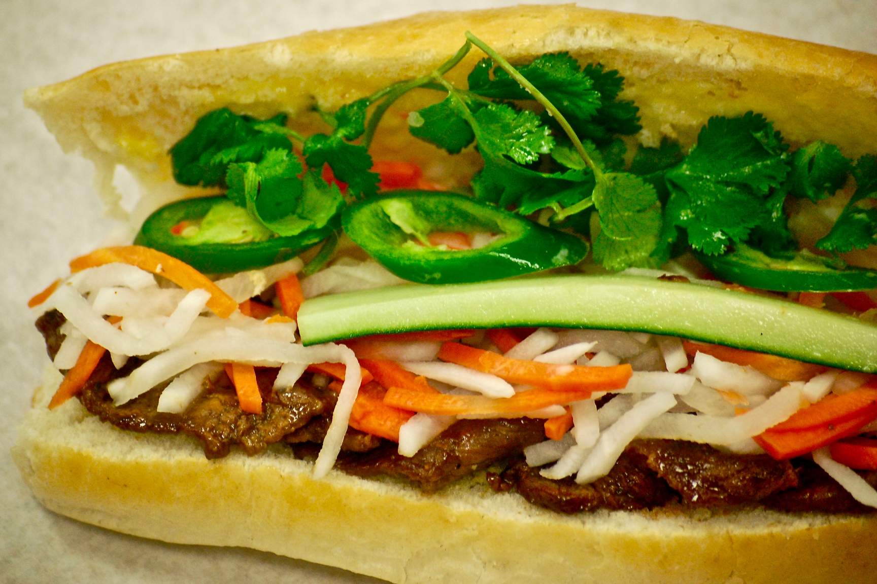 Grilled Beef Bánh Mì