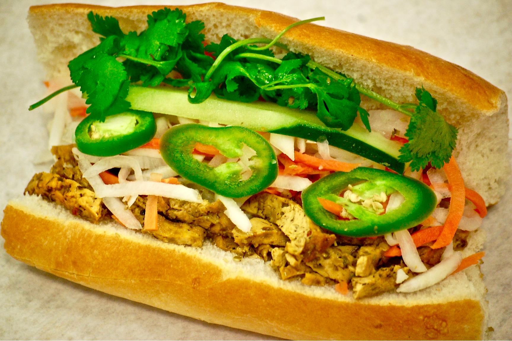 Lemongrass Tofu Bánh Mì