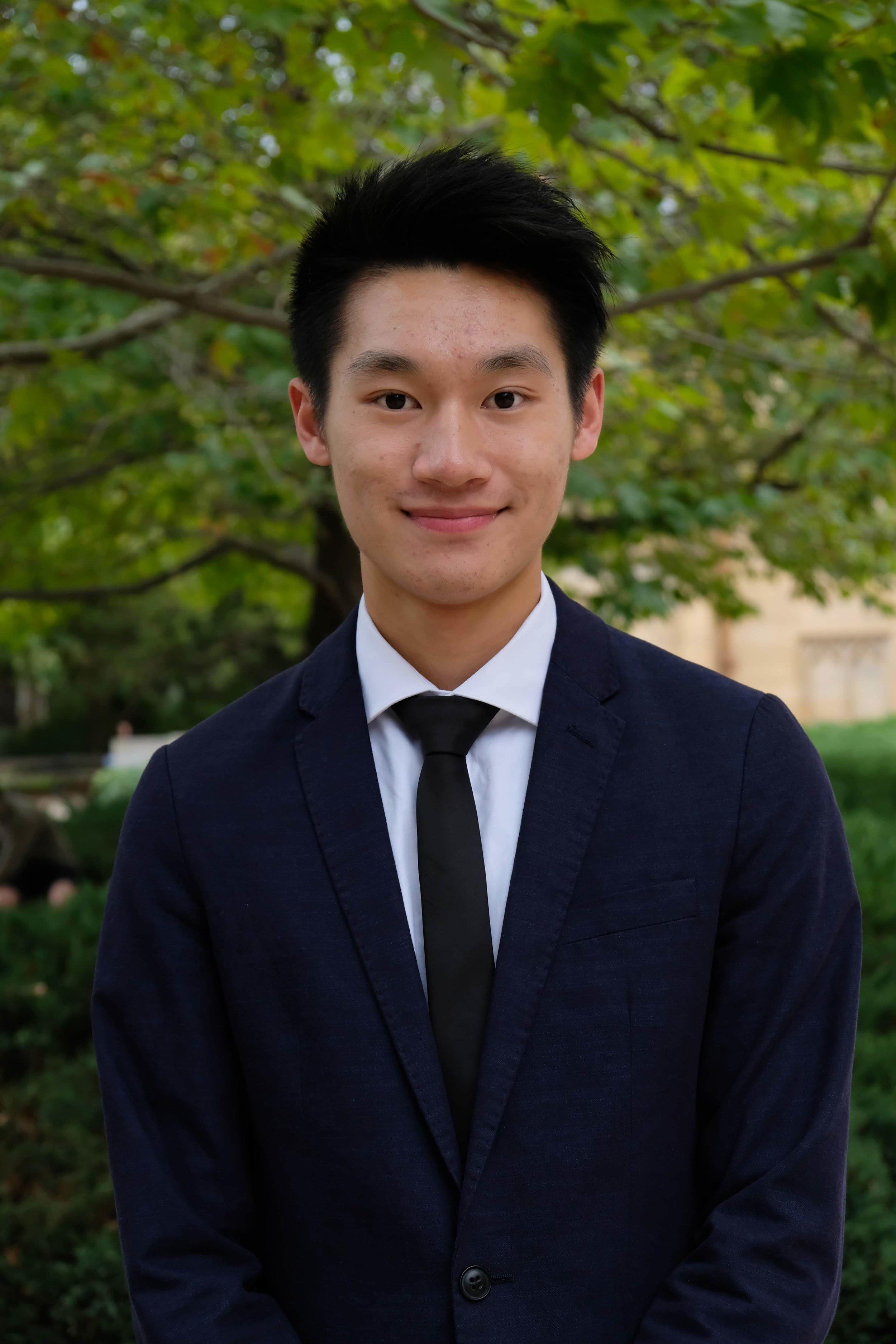 Alden Vong - Communications Officer