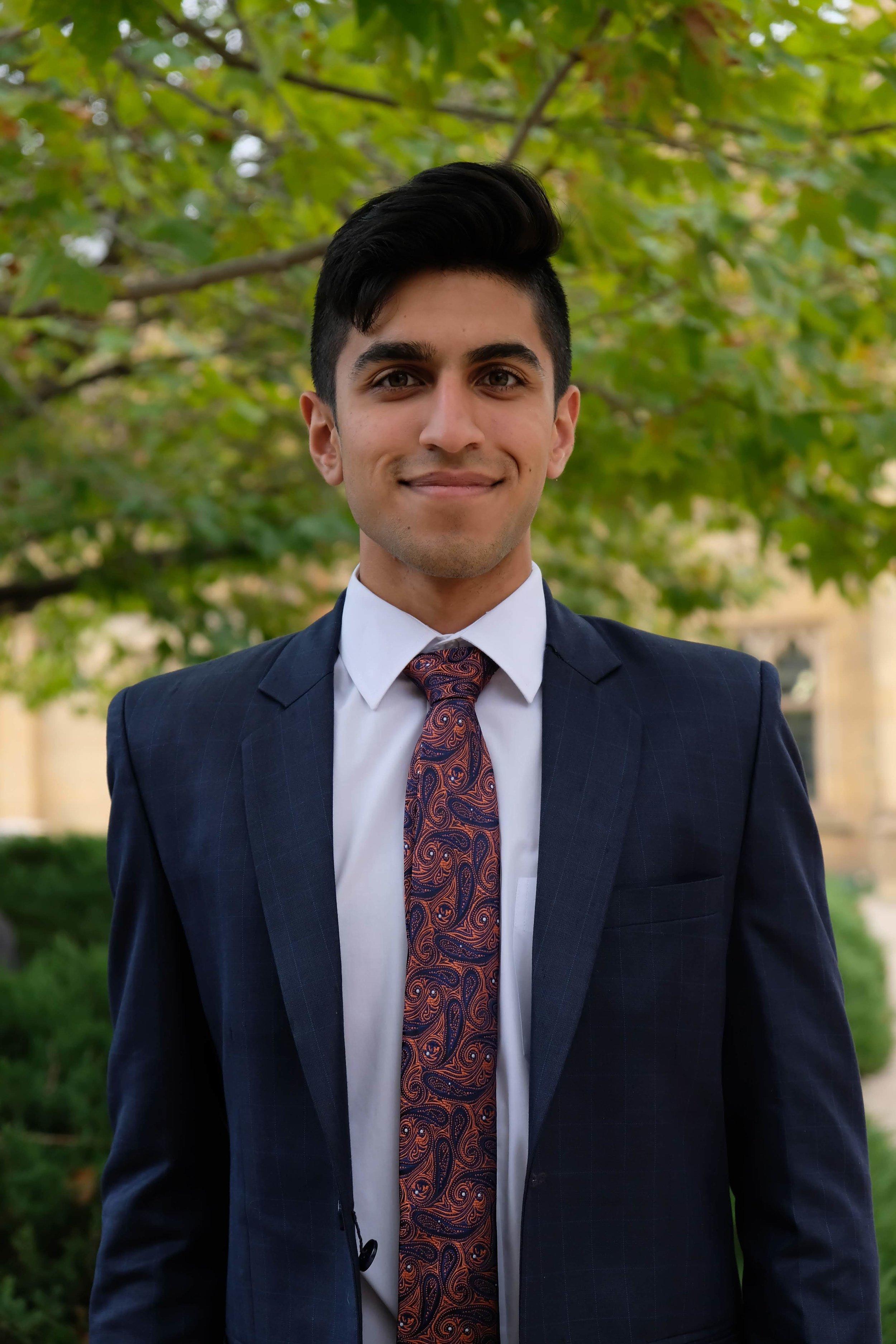 Sehaj Garcha - Finance Officer