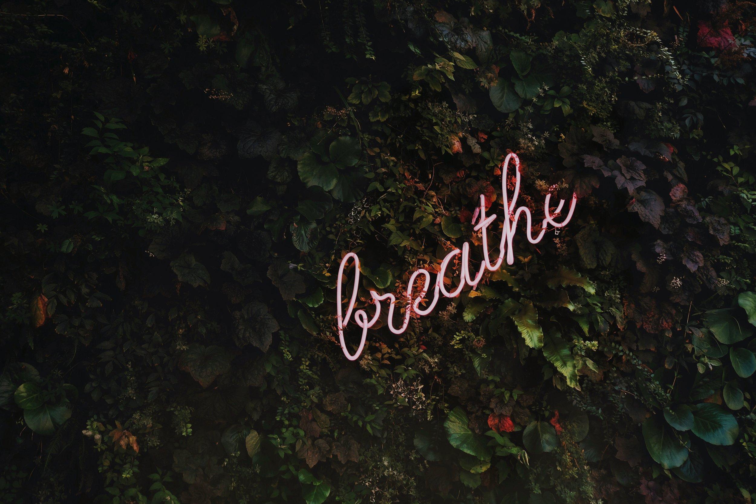 breathe breath self-care